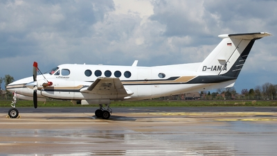D-IANA - Beechcraft B200 Super King Air - Euro Link