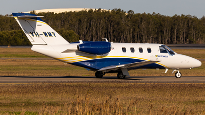 A picture of VHWMY - Cessna 525 Citation M2 - [5250856] - © Brandon Giacomin