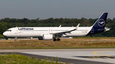 A picture of DAIEC - Airbus A321271NX - Lufthansa - © Sebastian Sowa