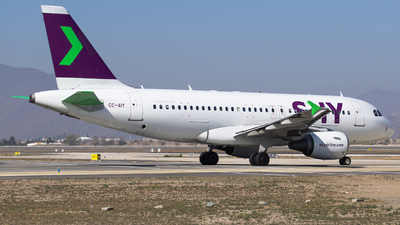CC-AIY - Airbus A319-111 - Sky Airline