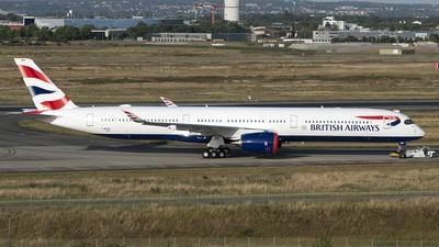 F-WZGM - Airbus A350-1041 - British Airways