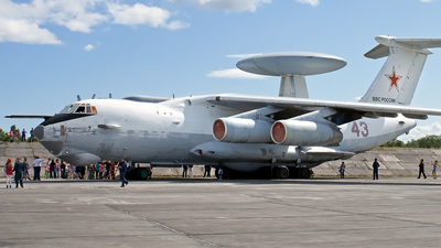 43 - Beriev A-50 Mainstay - Russia - Air Force