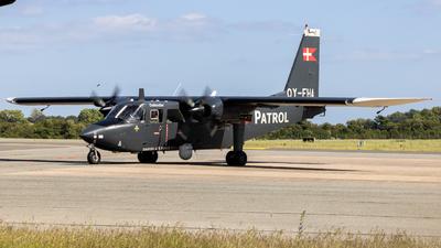 OY-FHA - Britten-Norman BN-2B-21 Islander - Denmark - Air Force