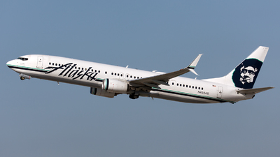 A picture of N459AS - Boeing 737990(ER) - Alaska Airlines - © William Vignes