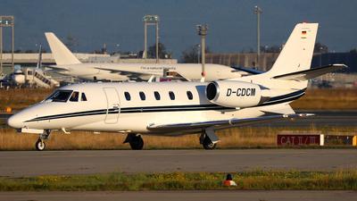 A picture of DCDCM - Cessna 560XLS Citation Excel + - Air Hamburg - © Daniel Klein