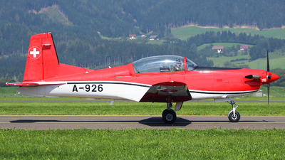 A-926 - Pilatus NCPC-7 - Switzerland - Air Force