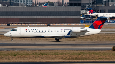 N459SW - Bombardier CRJ-200ER - Delta Connection (SkyWest Airlines)
