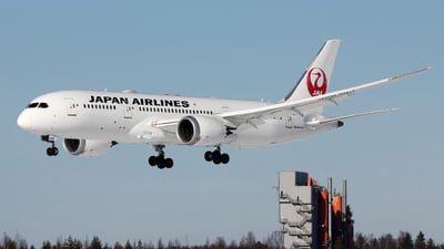 JA839J - Boeing 787-8 Dreamliner - Japan Airlines (JAL)