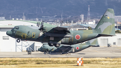 75-1077 - Lockheed C-130H Hercules - Japan - Air Self Defence Force (JASDF)