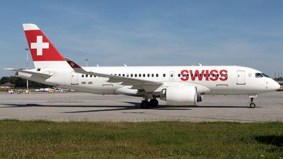 A picture of HBJBI - Airbus A220100 - Swiss - © Łukasz Stawiarz