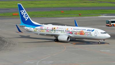 JA85AN - Boeing 737-881 - All Nippon Airways (ANA)