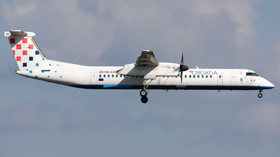 A picture of 9ACQD - De Havilland Canada Dash 8400 - Croatia Airlines - © Sierra Aviation Photography