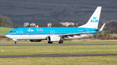 A picture of PHBXG - Boeing 7378K2 - KLM - © Kyle McKinlay