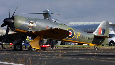 G-CBEL - Hawker Sea Fury FB.11 - Private