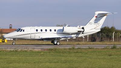 A picture of TCSTO - Cessna 650 Citation VII - [6507091] - © Loredana Cioclei