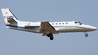 G-CMBC - Cessna 550B Citation Bravo - Private