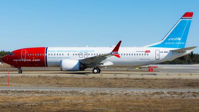 LN-BKC - Boeing 737-8 MAX - Norwegian