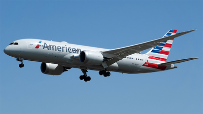 A picture of N871AY - Boeing 7878 Dreamliner - American Airlines - © aegithalidae