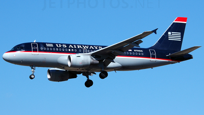 N706US - Airbus A319-112 - US Airways
