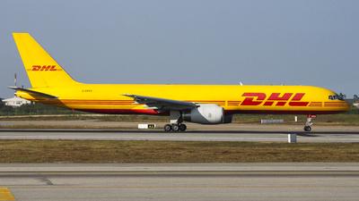 G-DHKX - Boeing 757-23A(PF) - DHL Air