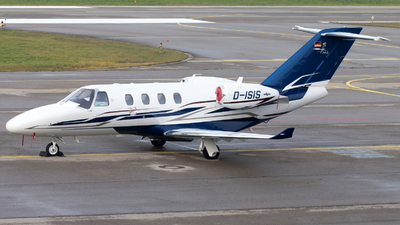 D-ISIS - Cessna 525 CitationJet M2 - Private