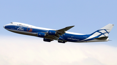 VQ-BVR - Boeing 747-867F - Air Bridge Cargo