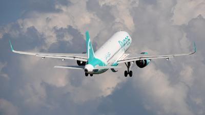HZ-NS44 - Airbus A320-271N - Flynas