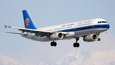 A picture of B6578 - Airbus A321231 - China Southern Airlines - © Jinyuan LIU
