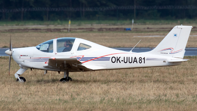 OK-UUA81 - Tecnam P2002JF Sierra - Private