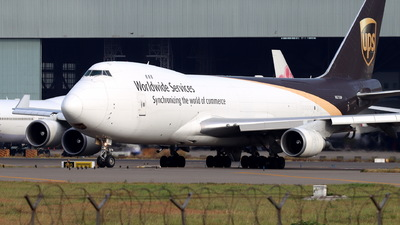 A picture of N573UP - Boeing 74744A(F) - UPS Airlines - © CHA CHA