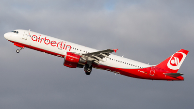D-ABCA - Airbus A321-211 - Air Berlin