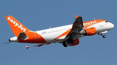G-EZII - Airbus A319-111 - easyJet