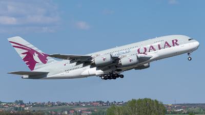 A7-API - Airbus A380-861 - Qatar Airways