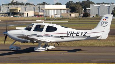 VH-EYZ - Cirrus SR22-G3 - Private