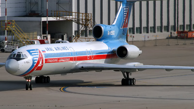 RA-85807 - Tupolev Tu-154M - Ural Airlines