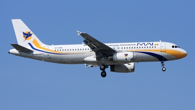 XY-AGI - Airbus A320-231 - Myanmar Airways International (MAI)