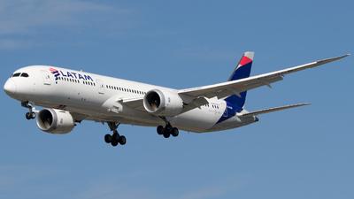 CC-BGB - Boeing 787-9 Dreamliner - LATAM Airlines