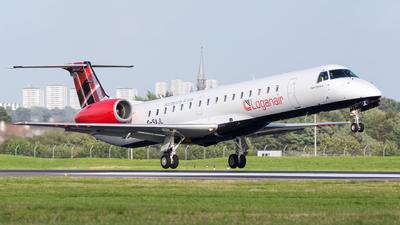 G-SAJL - Embraer ERJ-145EP - Loganair