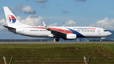 A picture of 9MMLM - Boeing 7378H6 - Malaysia Airlines - © Vicknesh PS