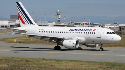 A picture of FGUGO - Airbus A318111 - Air France - © Maurizio Riva