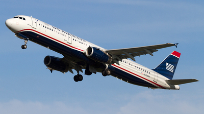 N570UW - Airbus A321-231 - US Airways