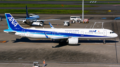 A picture of JA133A - Airbus A321272N - All Nippon Airways - © Shogo Kawai