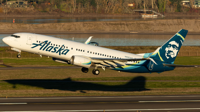 A picture of N597AS - Boeing 737890 - Alaska Airlines - © Russell Hill