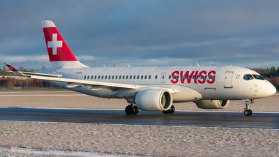 A picture of HBJBD - Airbus A220100 - Swiss - © Adam Lanzen