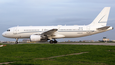 HZ-A3 - Airbus A320-214(CJ) Prestige - Alpha Star Aviation Services