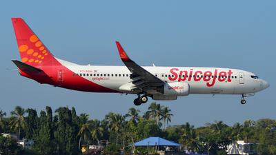 VT-SGH - Boeing 737-8GJ - SpiceJet