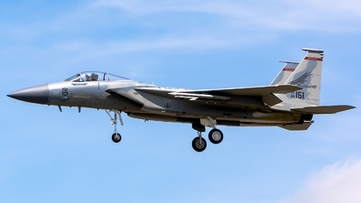 86-0151 - McDonnell Douglas F-15C Eagle - United States - US Air Force (USAF)