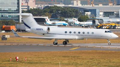 N998FA - Gulfstream G550 - Private