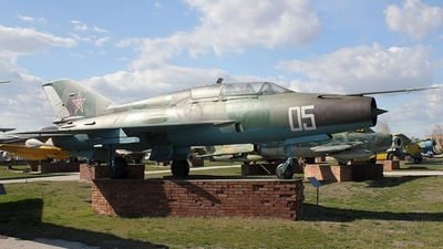 05 - Mikoyan-Gurevich MiG-21US Mongol B - Bulgaria - Air Force