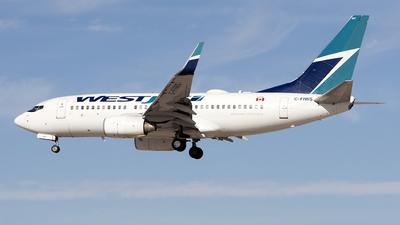 C-FIWS - Boeing 737-76N - WestJet Airlines